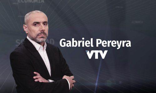 Pereyra conduce el programa En la Mira de VTV y trabaja en la primera edición de Informativo Sarandì