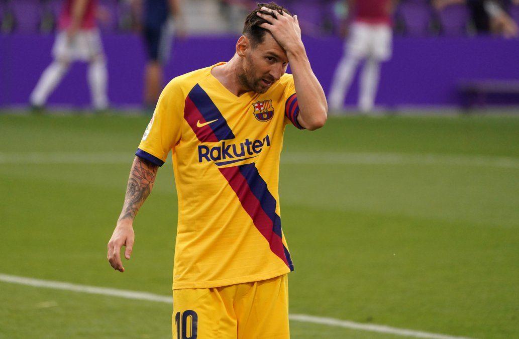 Messi no marca pero sigue al frente de los goleadores en España