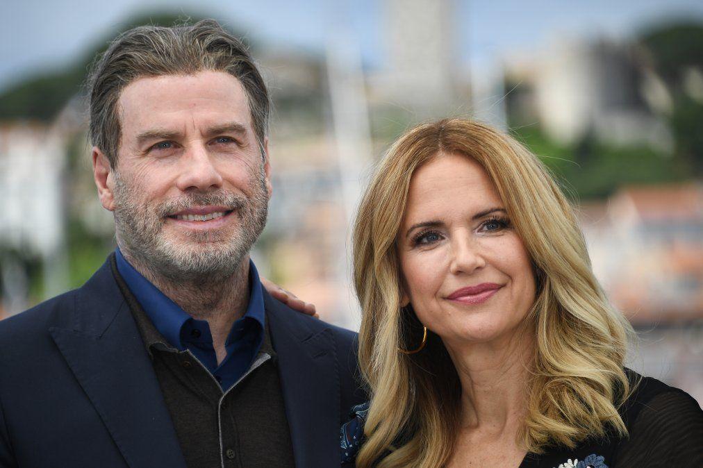 El matrimonio en mayo de 2018 en la edición 71 del Festival de Cannes. Presentaban Gotti
