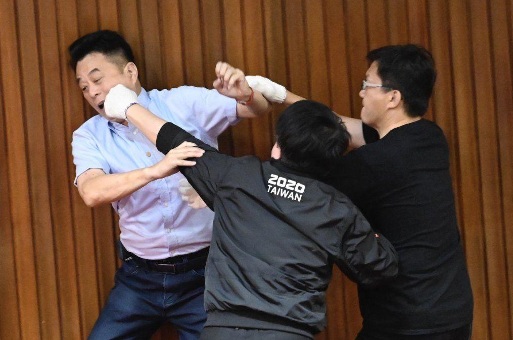 El principal legislador opositor de Taiwán