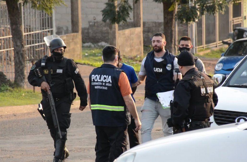 Operativo antidrogas terminó con 14 personas detenidas en barrio Fátima