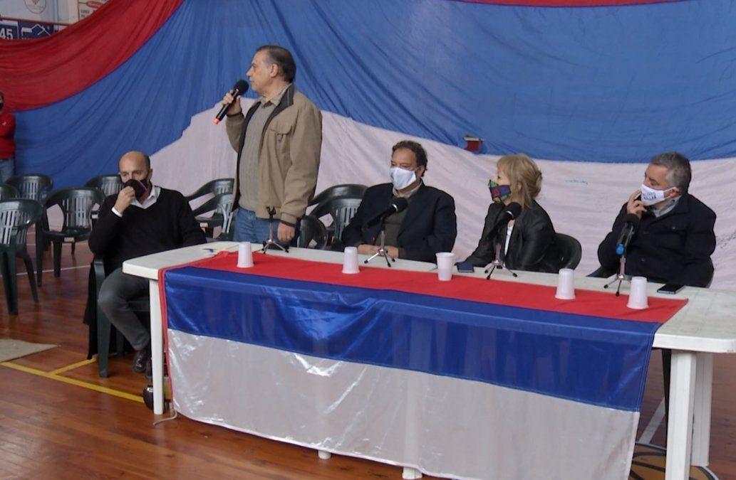 Cosse, Villar y Martínez juntos en lanzamiento de candidato a alcalde