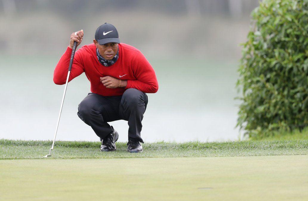 Tiger Woods termina con sólida ronda, pero no cumple expectativas