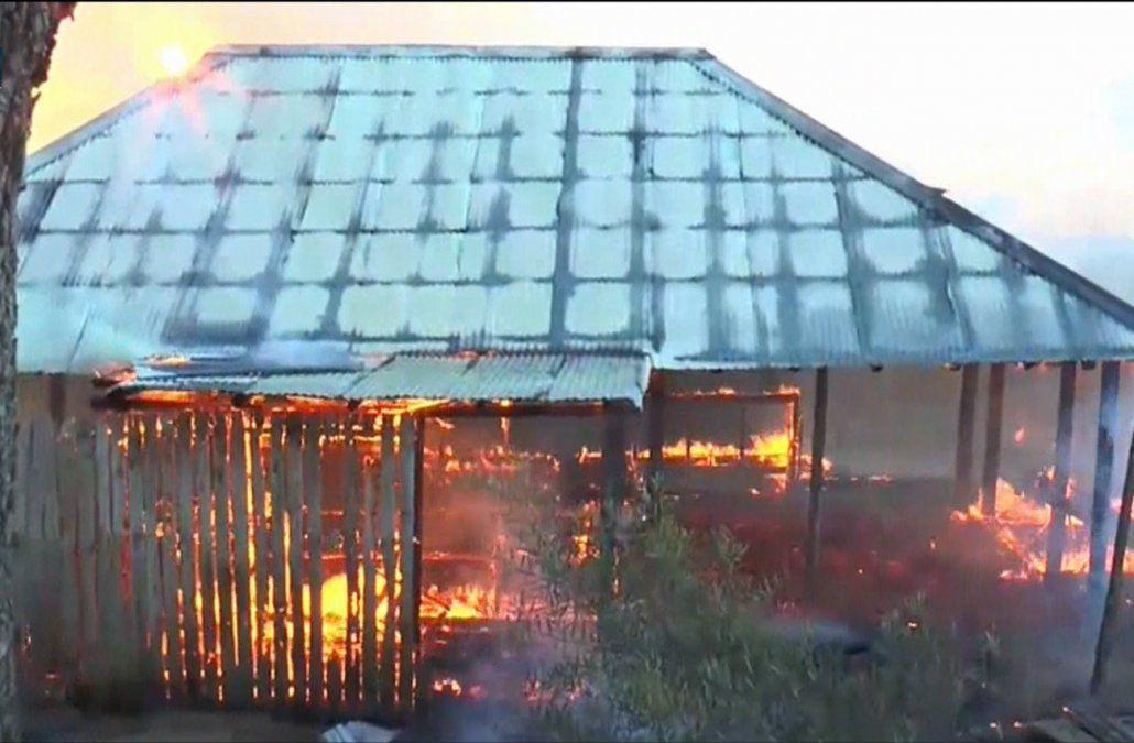 Se incendió el boliche Barbas en La Paloma y hubo pérdidas totales