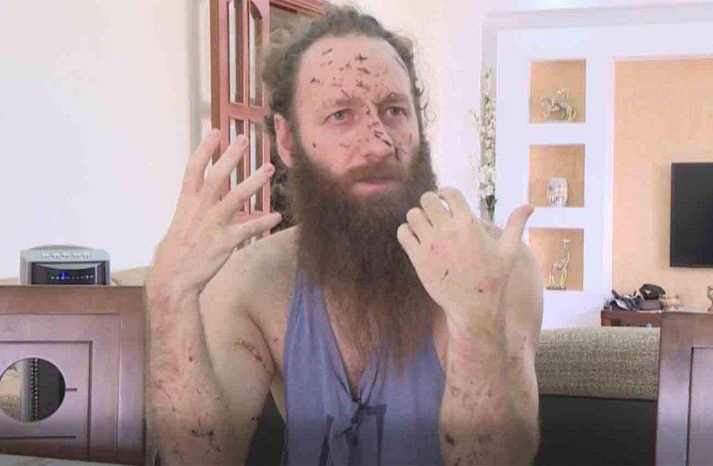 Ya no quiero vivir aquí: el relato de un sobreviviente que filmó la explosión en Beirut