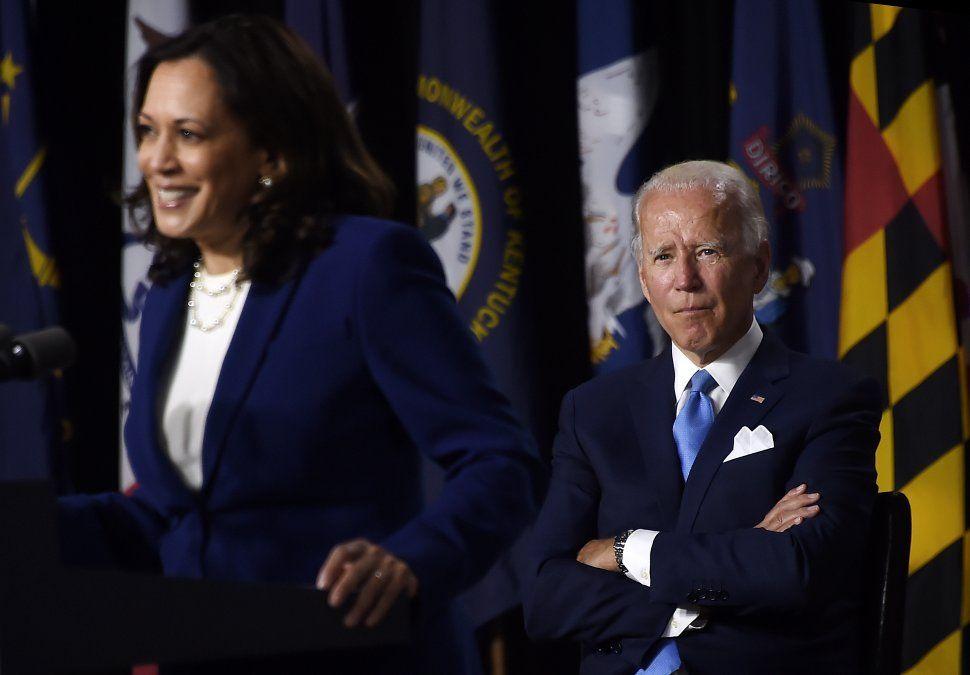 La compañera de fórmula a la vicepresidencia demócrata