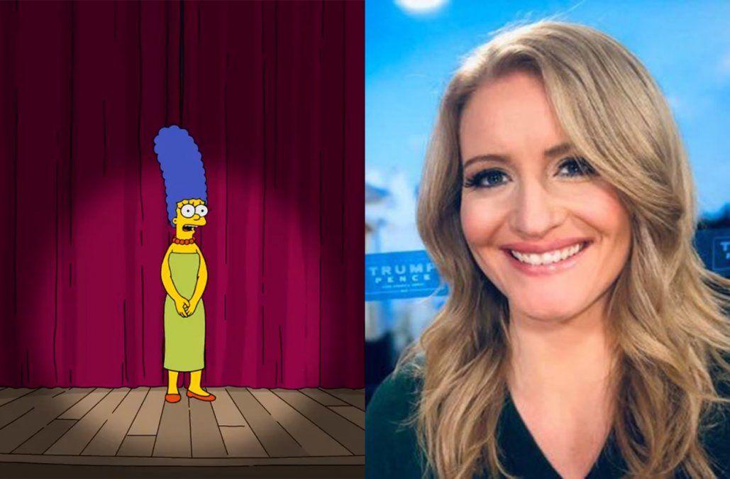 Marge Simpson le respondió a la asesora de Trump que la comparó con Kamala Harris