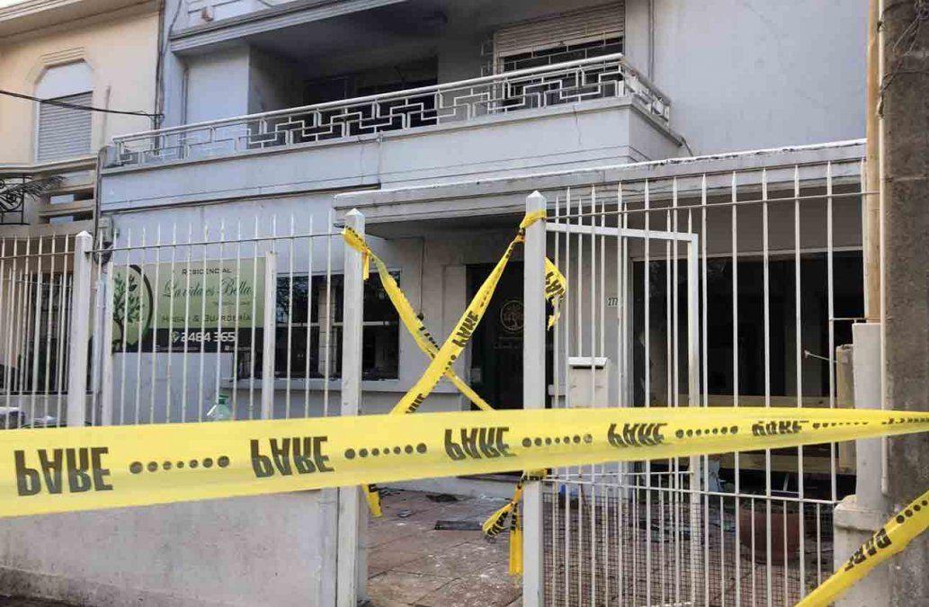 0002667285 - Incendio fatal en un residencial de ancianos: falleció una mujer de 82 años