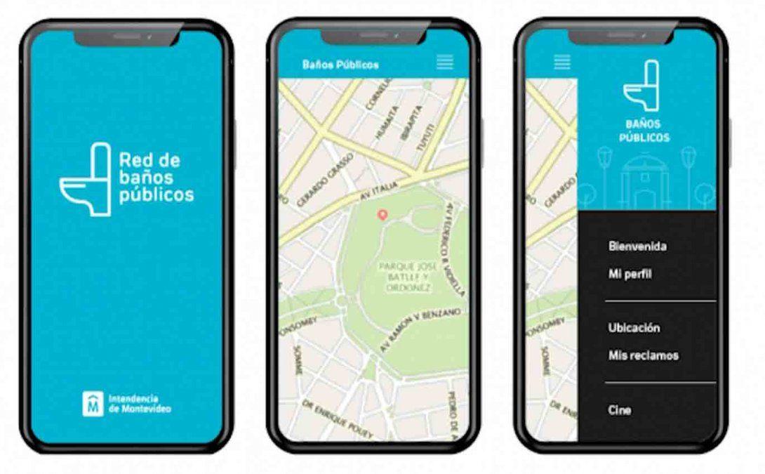 Intendencia de Montevideo presentó la red de baños públicos