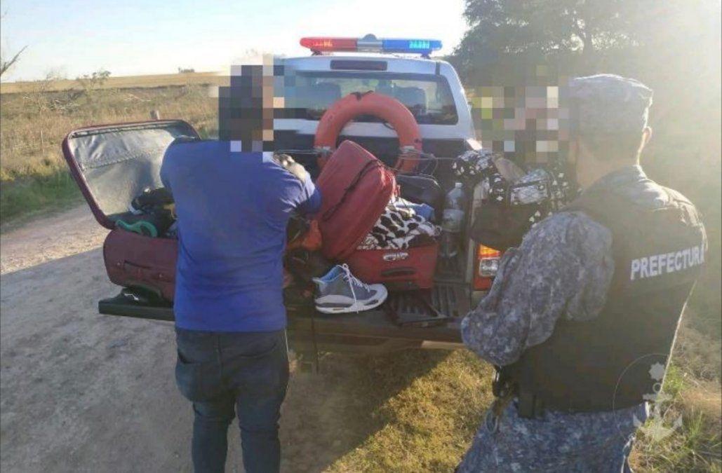 Detienen a dos dominicanos en Carmelo; uno pagó 400 para cruzar en lancha de Argentina