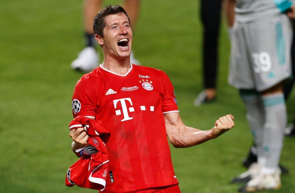Lewandowski es elegido mejor futbolista del año en Alemania