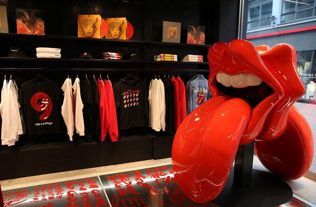 Los Rolling Stones abrirán su primera tienda en el mundo en Londres
