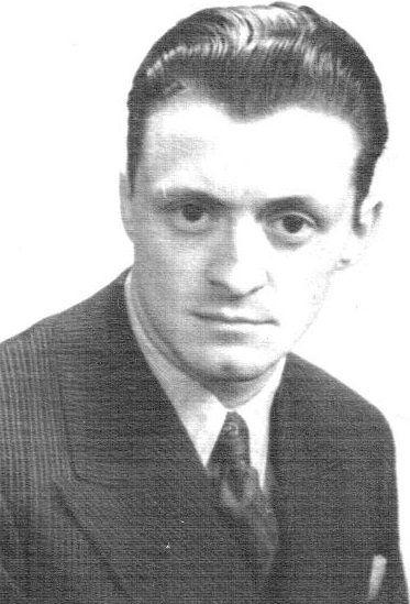 El joven Mario. A los 19 años viajó a Buenos Aires como secretario de la escuela Raumsòlica