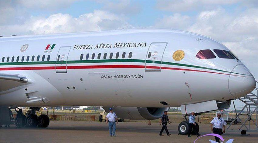México rifará USD 95 millones con avión presidencial como símbolo