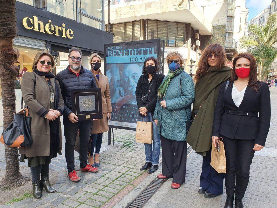 Inauguran Circuito Benedetti con sitios vinculados al artista y su obra