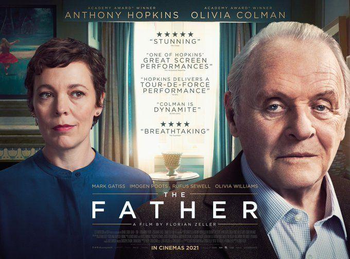 Anthony Hopkins va por su segundo Oscar con El Padre