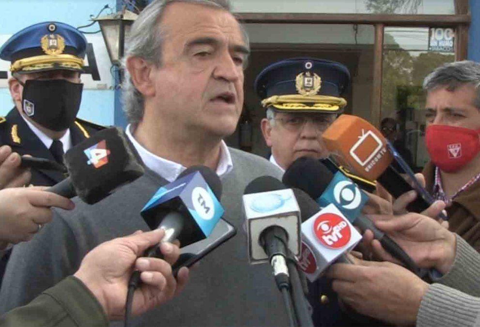 Larrañaga calificó como acción defensiva el disparo de un policía a un joven en Artigas
