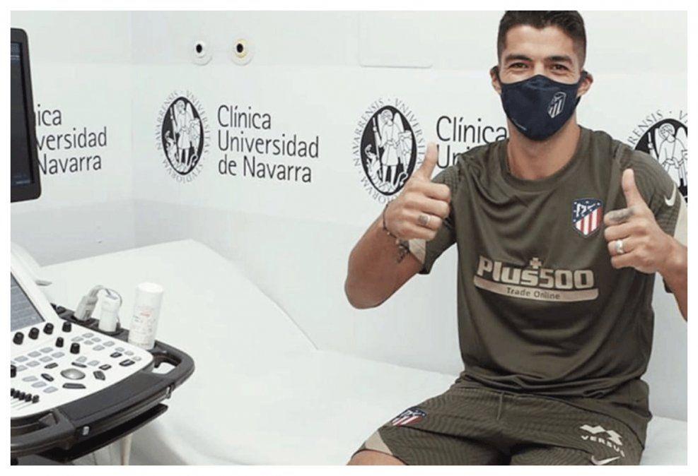 Suárez ya dio vuelta la página: pasó prueba médica y espera debutar el domingo