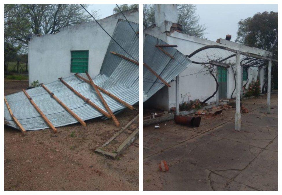 Se voló el techo de una escuela en Florida mientras se desarrollaba la votación