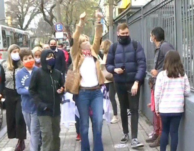 Candidata a la Intendencia Laura Raffo: vamos a ir espalda con espalda hasta el final