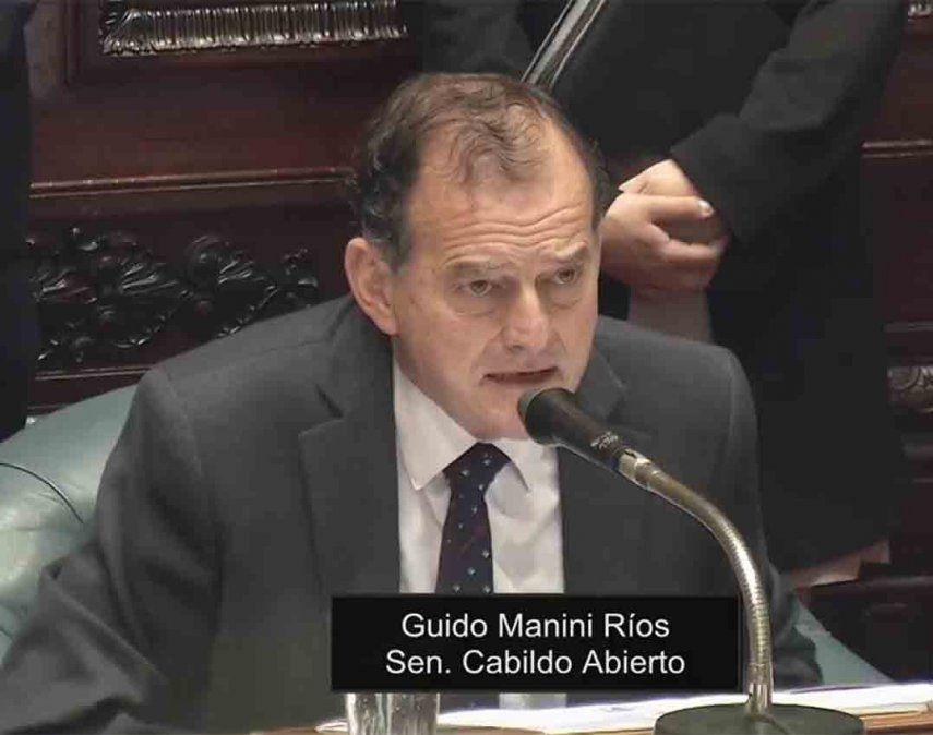 Manini Ríos: Estoy convencido que hay una operación para fracturar la coalición