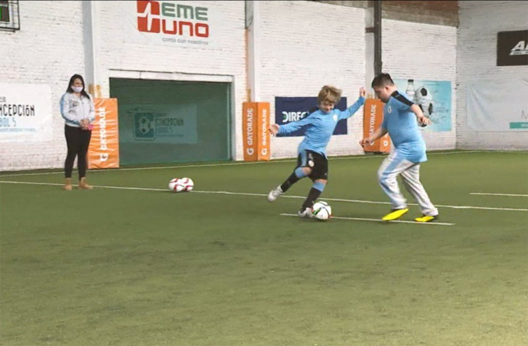 Selección Futsal síndrome de down se prepara para el mundial