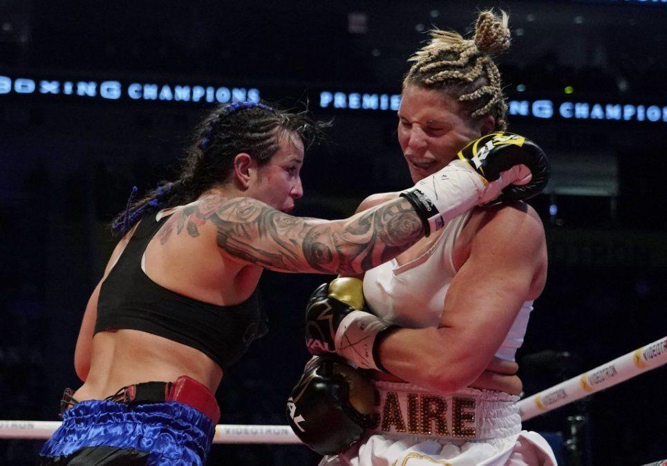 Chris Namus en pelea ante Marie-Eve Dicaire ocurrida en Quebec