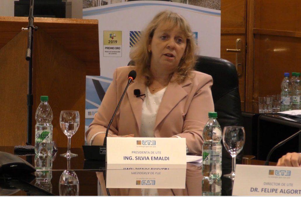 La presidenta de UTE anunció un nuevo modelo de negocios para la empresa estatal