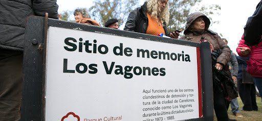 La Asociación Civil Ágora gestionó la señalización de los restos del centro clandestino Los Vagones en Canelones.