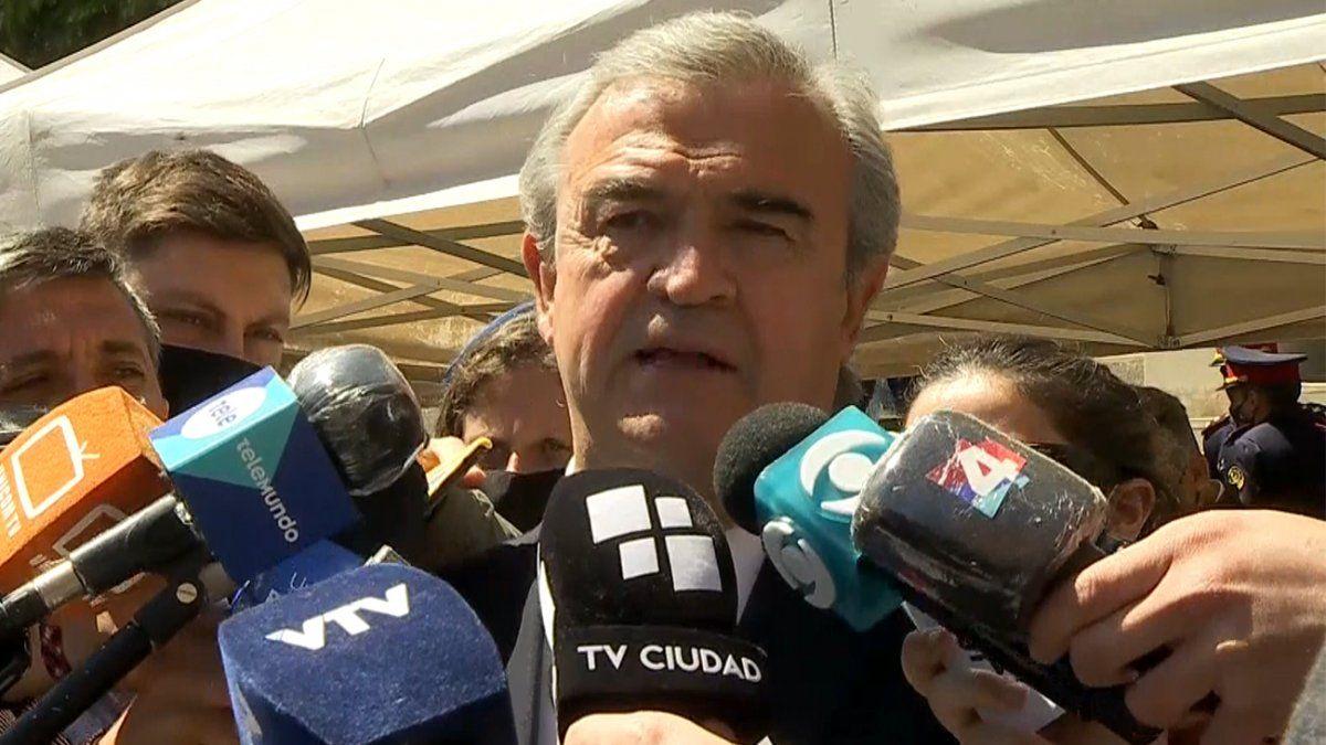 Larrañaga tras renuncia del Jefe de Policía de Montevideo: la diferencia no era