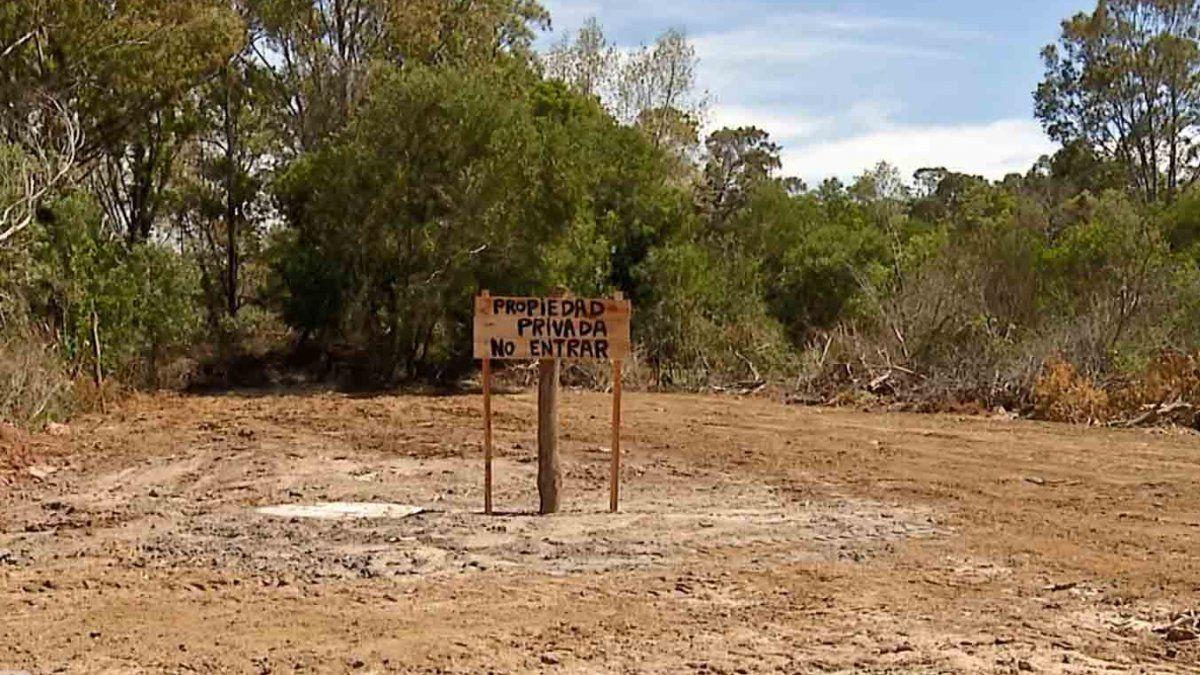 Tres personas formalizadas por venta ilegal de terrenos en Jaureguiberry