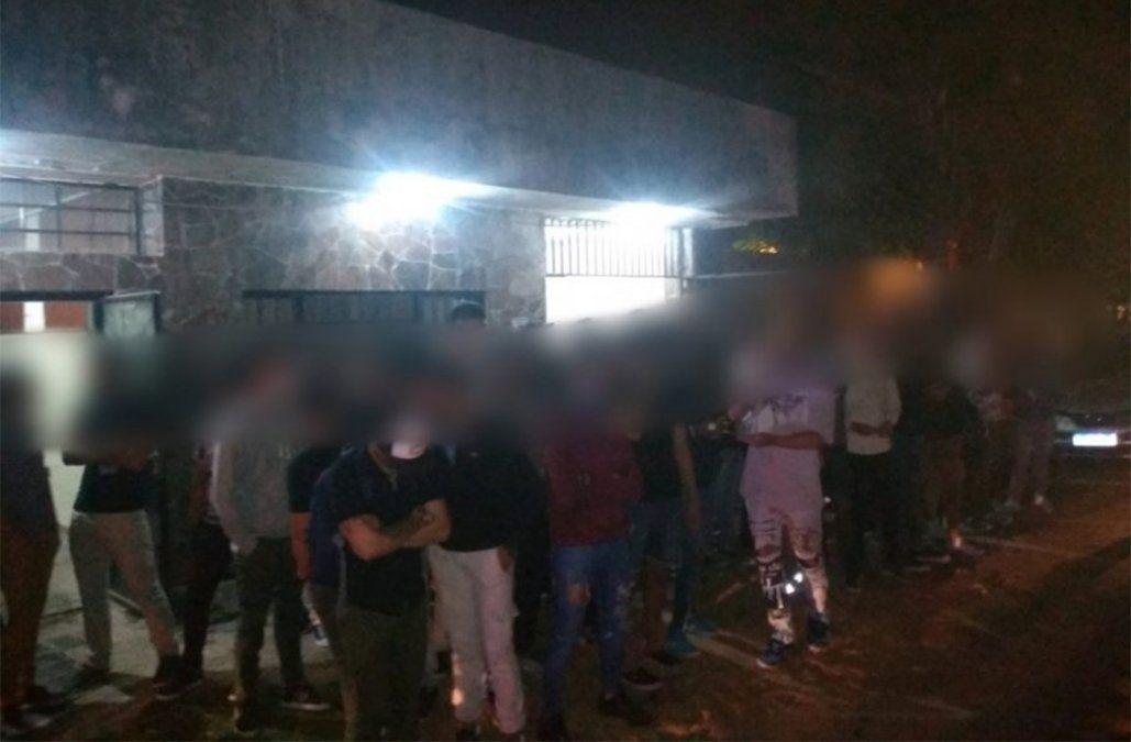 Dos hombres y una mujer condenados por hacer una fiesta clandestina en Maldonado