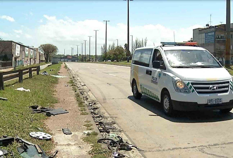 Joven de 18 años murió tras chocar de frente con un auto y un ómnibus
