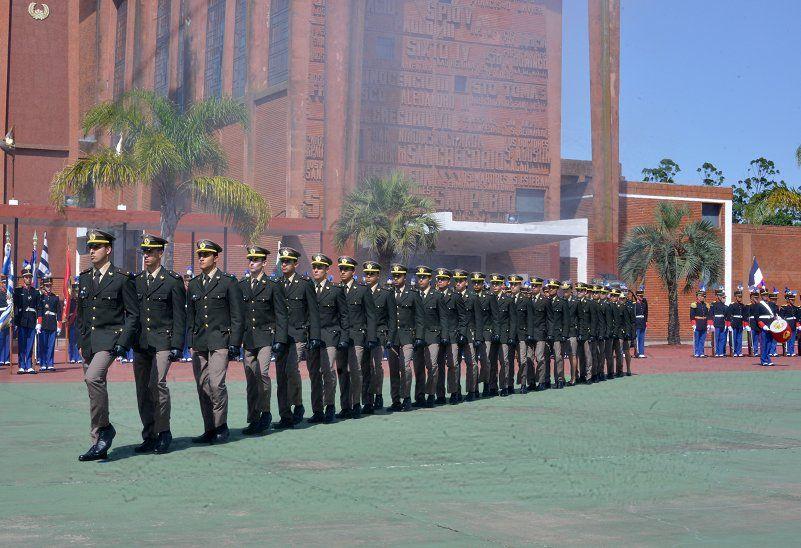 Ejército Nacional celebra ingreso de 49 nuevos alféreces de la Escuela Militar en diciembre de 2019