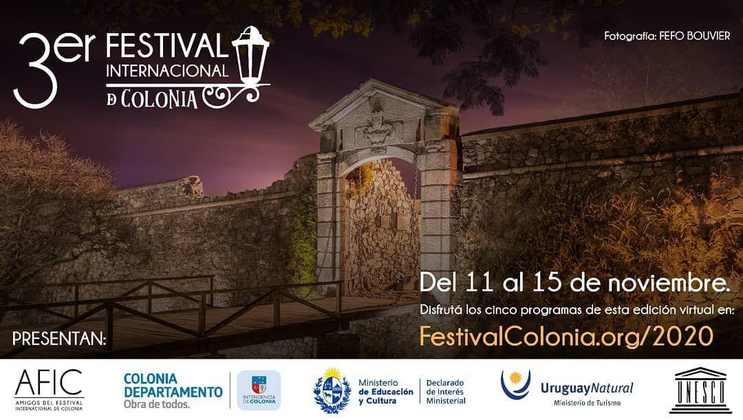III Festival Internacional de Colonia, virtual y con acceso gratuito