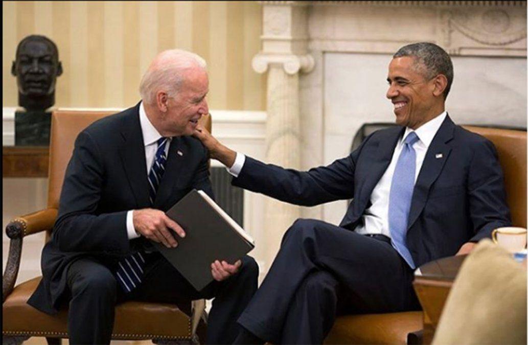 Expresidente Obama y figuras políticas del mundo felicitan a Biden por su victoria