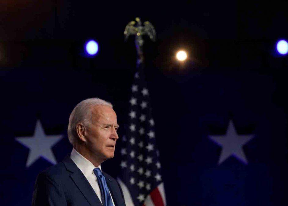 Biden promete unir a EEUU tras una victoria convincente