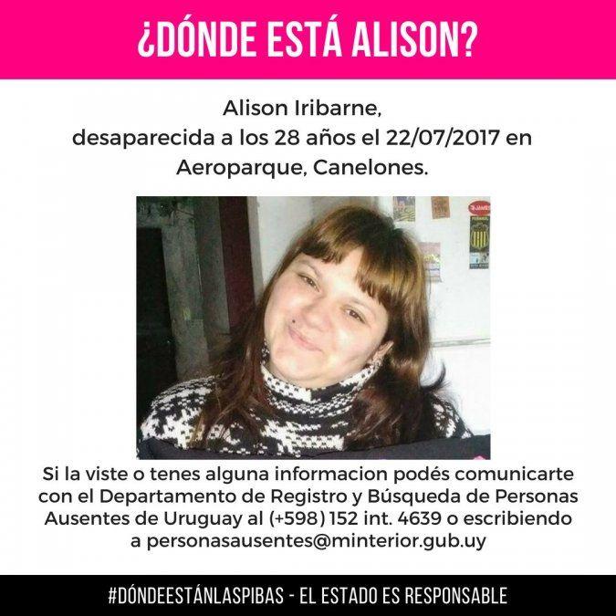 Buscaron con georradar a la joven desaparecida Alison Iribarne; no hallaron restos humanos en la cocina de su casa