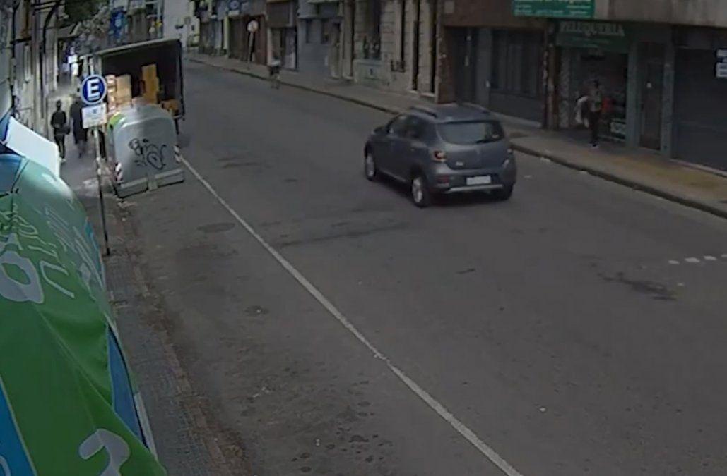Dos condenados por tentativa de rapiña; fueron detenidos tras seguimiento de cámaras de videovigilancia