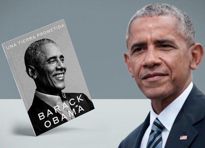 Obama lanza su libro de memorias tras las elecciones en las que ganó su exvice