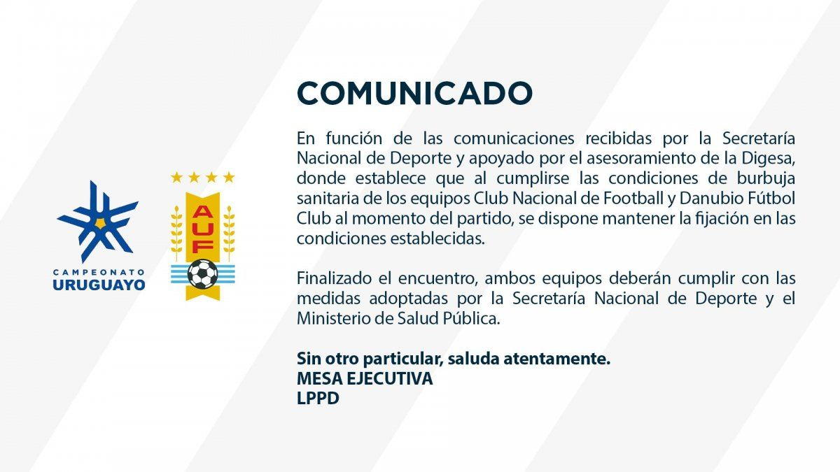Pese al brote de coronavirus habrá fútbol por el Torneo Intermedio el fin de semana