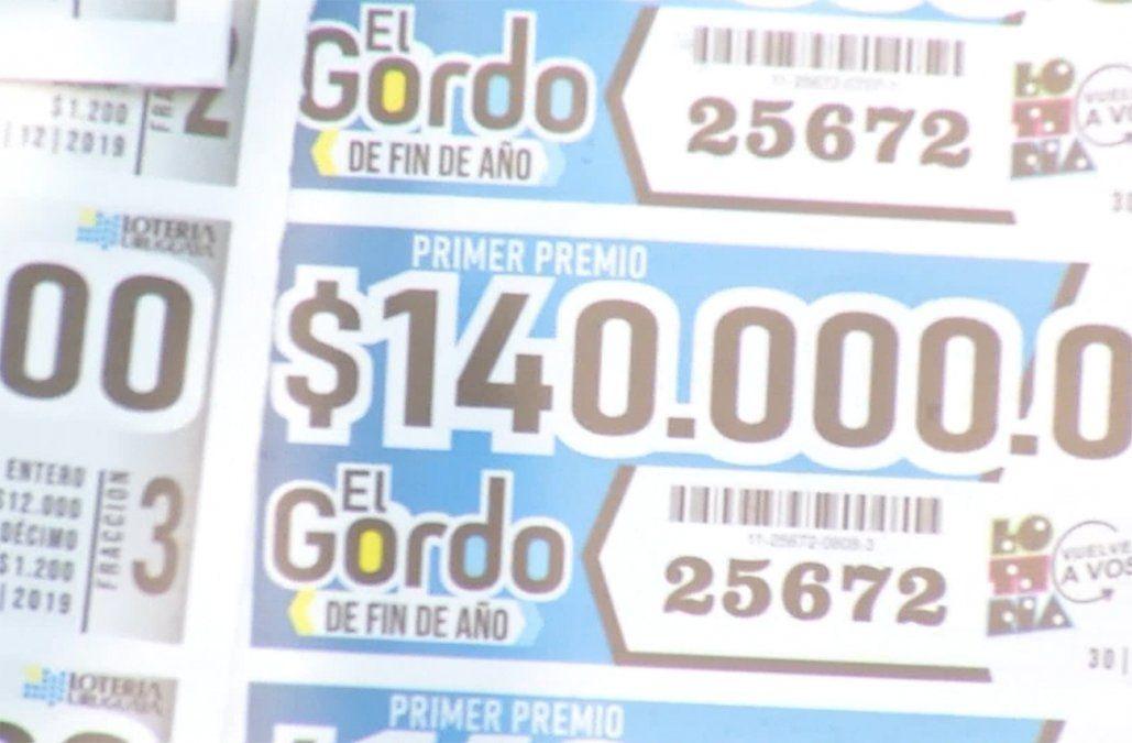 Gordo de Fin de Año se pone a la venta este sábado con un premio mayor de $140 millones