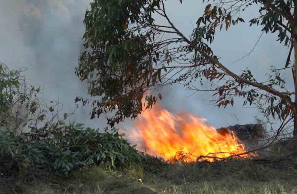 Bomberos intervinieron varios incendios en diferentes partes del país