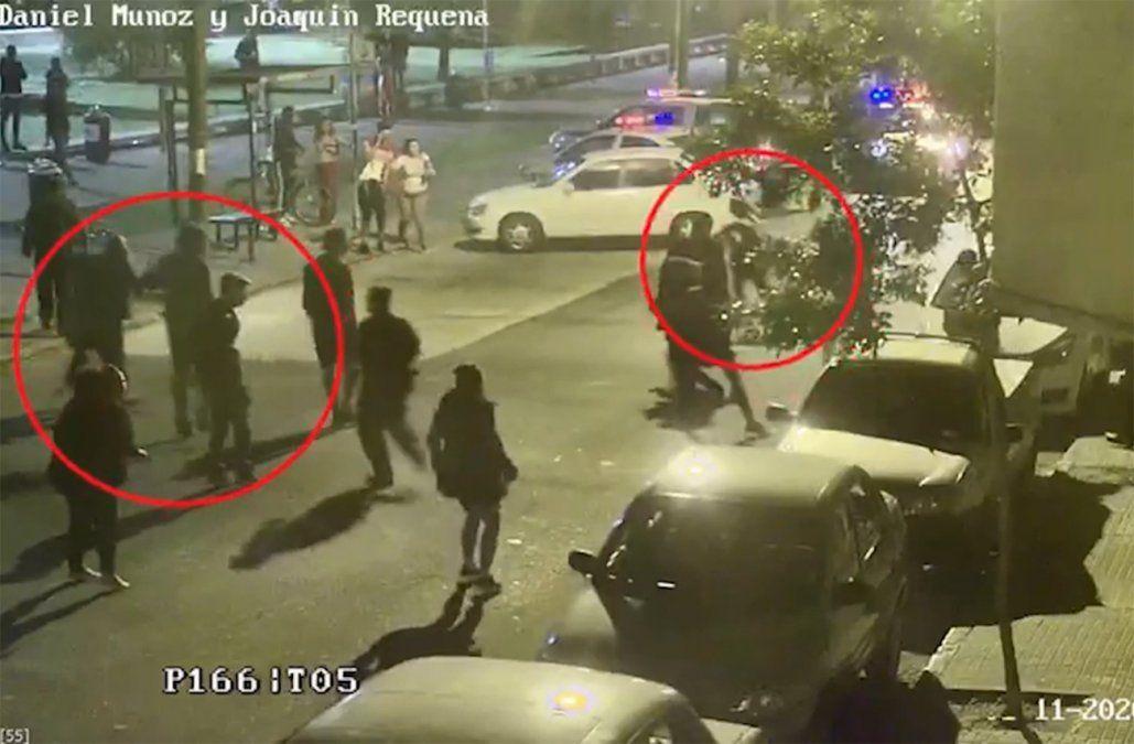 Así ocurrieron los incidentes en Plaza Seregni; la Policía divulgó imágenes