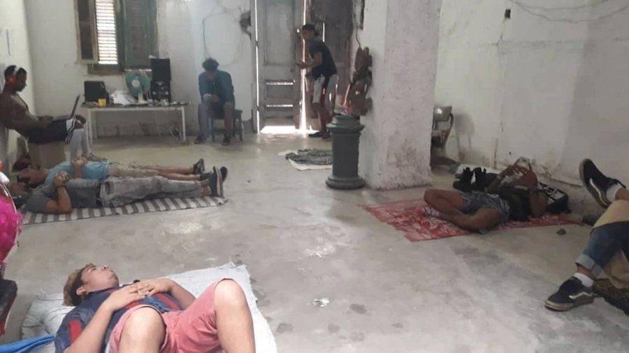 Huelguistas de hambre en La Habana por Denis Solís. La foto es publicada por el sitio web de Vice