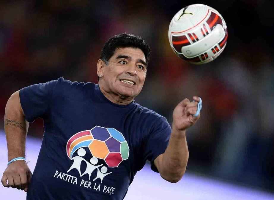 La despedida de las figuras celestes a Diego Maradona