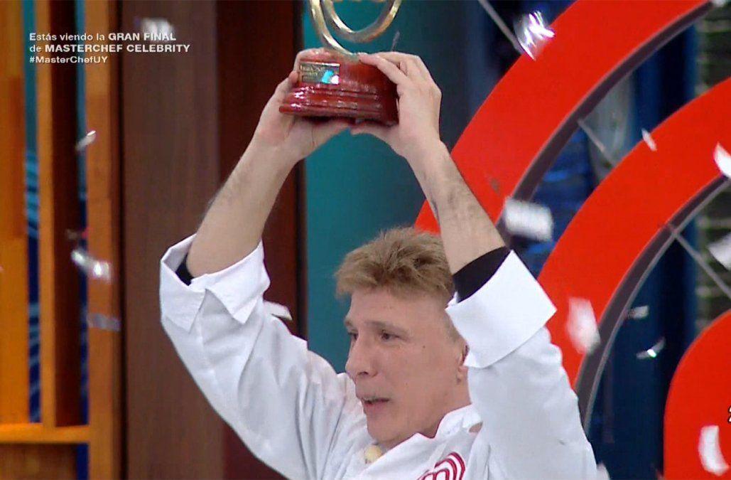 Aldo Martínez ganó la final de MasterChef al El Chino Recoba