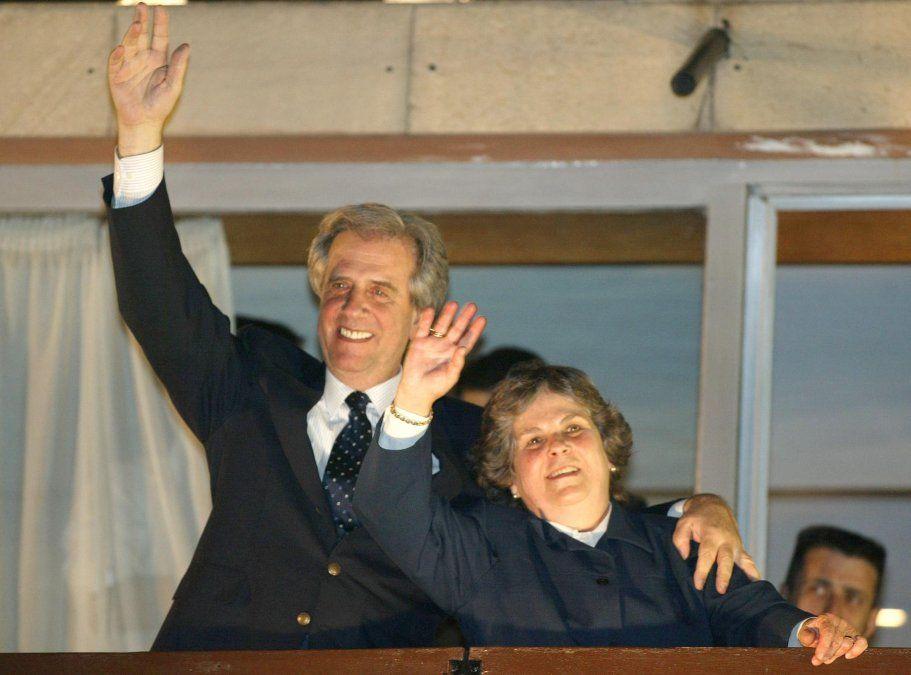 La noche del primer triunfo de Vázquez como candidato a presidente