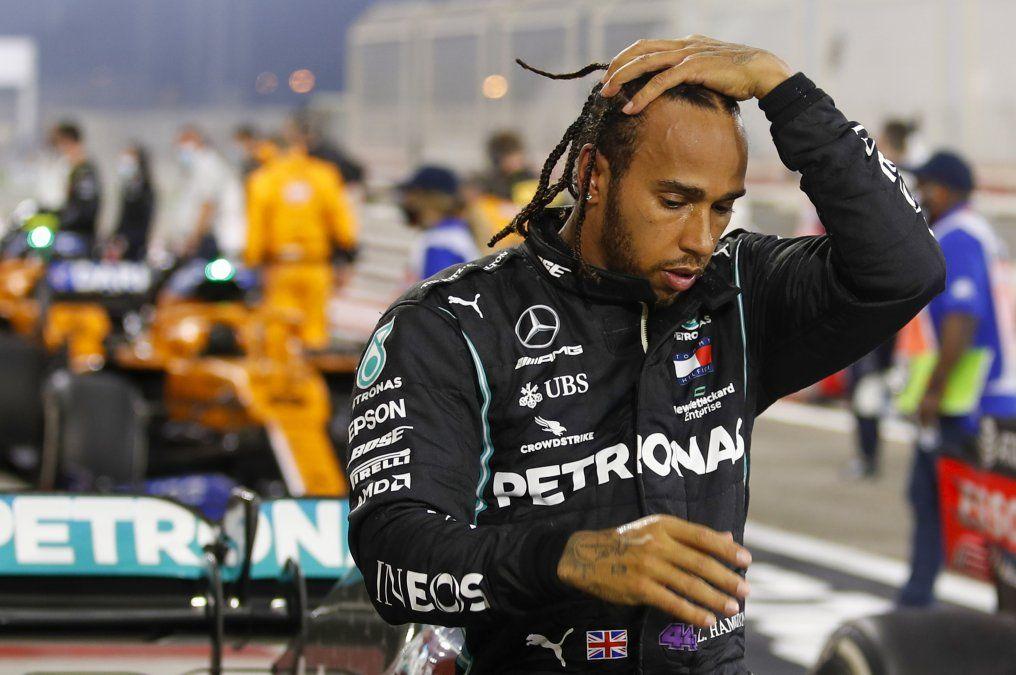 Lewis Hamilton dio positivo al coronavirus y no podrá disputar el Gran Premio de Sakhir