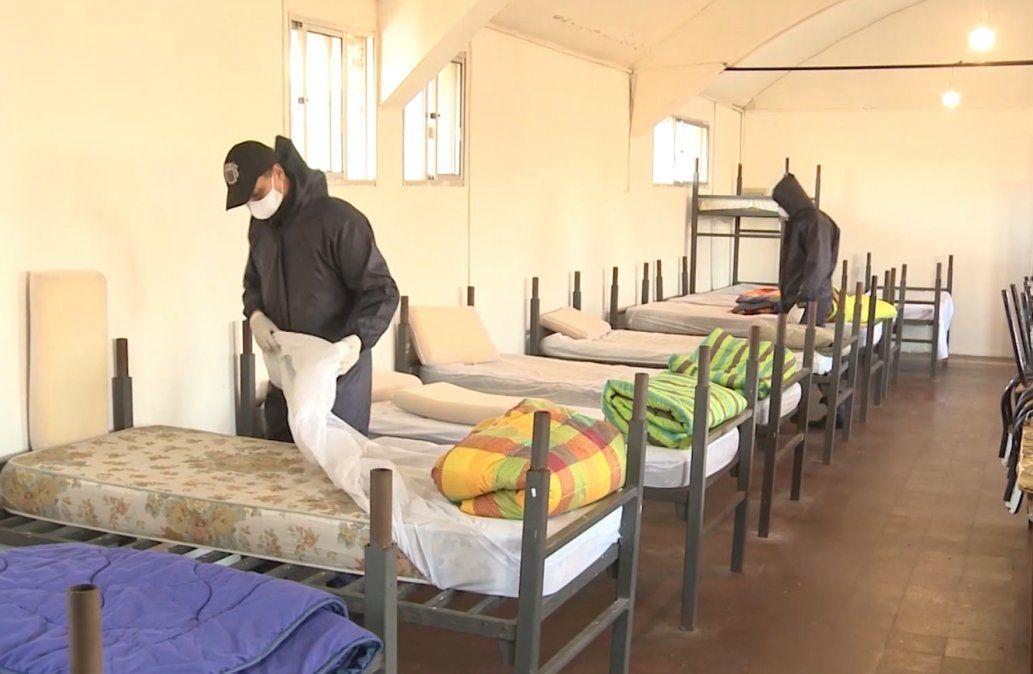Cuatro casos positivos y 150 personas en cuarentena en refugios del Mides